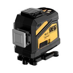 DEG 4D01-E12D - 12 vonalas, 3D (3x360°) zöld lézer szintező alsó vízszintes lézerrel, távirányítóval