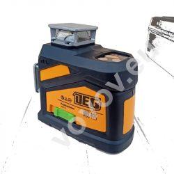 DEG 4D01-E12U - 12 Lines 3D (3x360°) green laser level, remote control