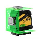 DEG 4D01-E16C - 16 lines, 4D (4x360°)  green beam laser level, remote control