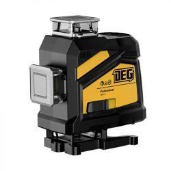 DEG 4D01-E16C - 16 vonalas, 4D (4x360°) zöld lézer szintező távirányítóval