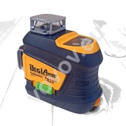 DEG 4D01-F12U - 12 Lines 3D (3x360°) green laser level, remote control, three brightness levels