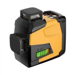 DEG 4D01-G12U - 12 Lines 3D (3x360°) green laser level, remote control