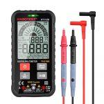 Habotest HT112B - 6000 Counts Smart Digital Multimeter Super Slim with Live Test NCV 9.999mF Capacitance with Flashlight