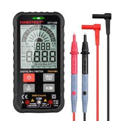 Habotest HT112B - digitális multiméter: AC/DC, TRMS, 600 V, kapacitás, NCV stb.