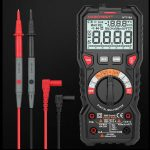 Habotest HT118A - Automatic Digital Multimeter: 1000V, Auto Range With True RMS, 6000 Counts, NCV etc.