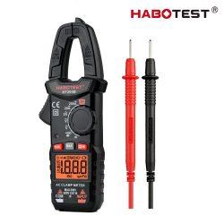 Habotest HT200B - digitális lakatfogós multiméter: 600V, kapacitás, diódateszt stb.