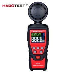 Habotest HT620L - Lux meter: LED colour scale, standard light, adjustable modes