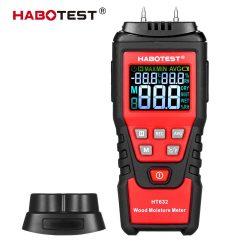 Habotest HT632 - nedvességmérő: 7 fő anyagkategória, környezeti hőmérséklet, RH