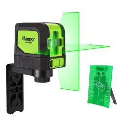 Huepar 9011G - Green Laser Level DIY Cross Line Laser Self Leveling