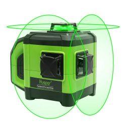 Huepar DT03G - Self-Leveling 3D Green Beam Laser Level, Dual Slope Function