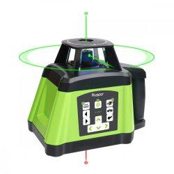 Huepar RL200HVG forgó lézer - zöld rotációs lézer, kettős lejtő funkció, pásztázási szögek