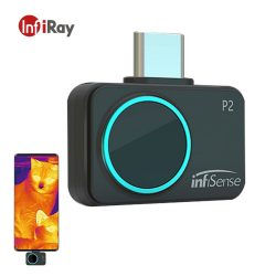 InfiRay infisense P2 - hőkamera mobiltelefonhoz: IR felbontás 256x192 pixel, -20°C ~+170°C, 25 Hz