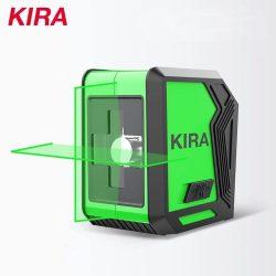 KIRA PT0202A-G2 - Green Laser Level DIY Cross Line Laser Self Leveling