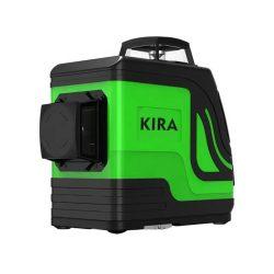 KIRA TQ1201B-G12 - 12 vonalas, 3D (3x360°) zöld lézer szintező: kültéri mód, Osram lézer