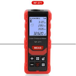 Noyafa NF-271 - lézeres távolságmérő: 50m, digitális szögmérő, Pitagorasz mérések