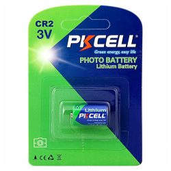 PKCELL CR2 lithium battery - 3 V, 850 mAh, CR15H270, not rechargeable