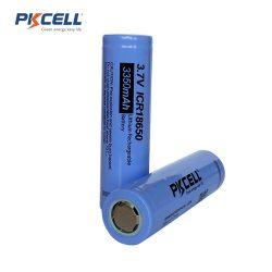 PKCELL ICR18650 battery - 3350 mAh, 6,5 A, flat