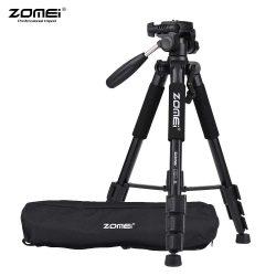 Zomei Q111 tripod, fotóállvány - 146 cm, mérőműszerekhez és fényképezőgéphez, dönthető, forgatható